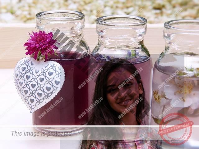 गुलाब जल की बोतल से वशीकरण